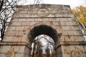 Sovětský válečný památník v treptower park, Berlín, Německo panorama