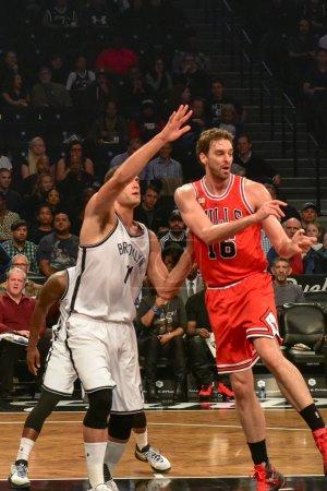 Сетки против Буллз баскетбол