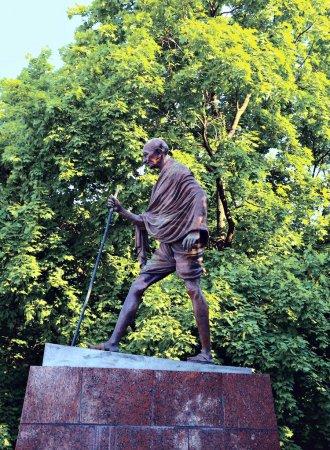 Monument to Mahatma Gandhi in