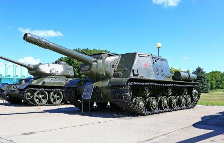 Soviet tanks during World War II