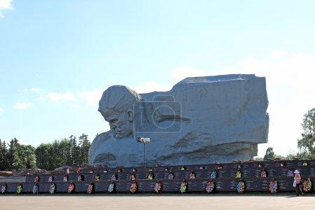 Photo pour Monument aux défenseurs tombés de la forteresse de Brest - image libre de droit