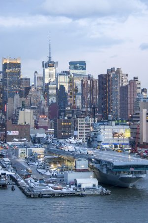 NEW YORK CITY, USA - MARCH 9 : The cityscape of Mi...