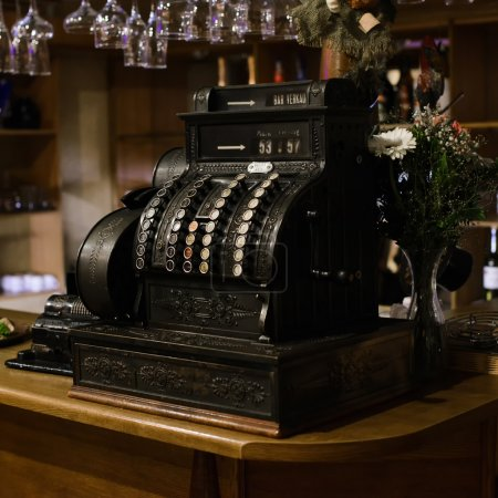 vintage  Antique cash register