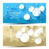 Vánoční bannery