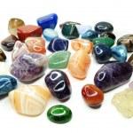 Amethyst quartz avanturine sodalite garnet semigem...