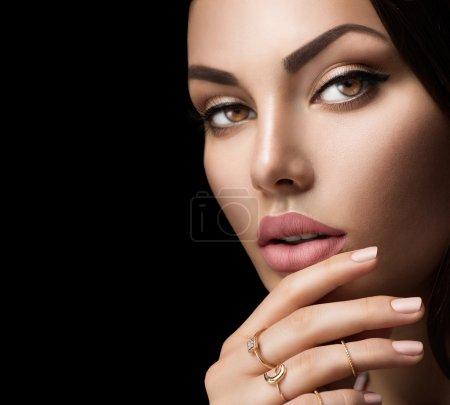 Perfect woman lips