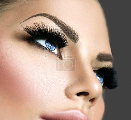 Beauty face makeup.