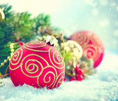Christmas  Holiday design composition