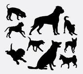 Dog pet animal silhouette 5