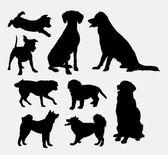 Dog pet animal silhouette 7