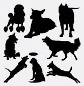 Dog pet animal silhoueyte 14