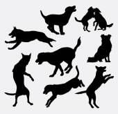 Dog pet animal silhouette 18