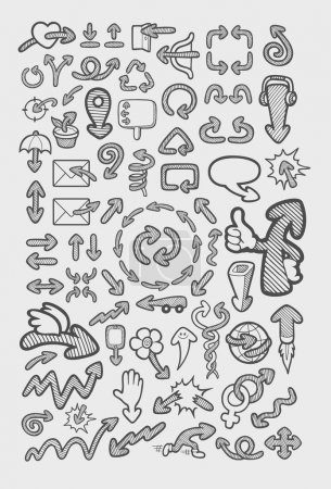 Arrow icons sketch