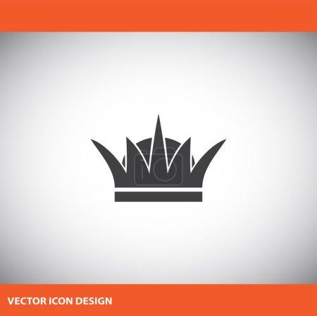 Crown vector icon...