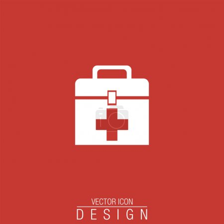 Illustration for First aid box - Royalty Free Image