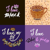 Surround yourself with good people and black coffeeI love black