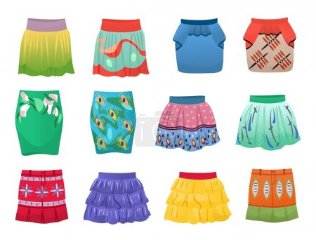Short summer skirts