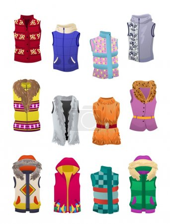 Women's autumn and winter vests