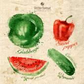 Vegetables Vector format