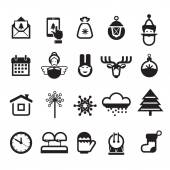 Christmas icons Vector format