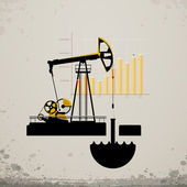 Oil pump jack Statistics oil production in the world