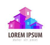 estate vector logo design template house or building icon