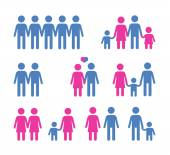 people vector logo design template family or society icon