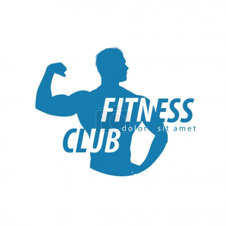 fitness vector logo design template. sport or gym icon