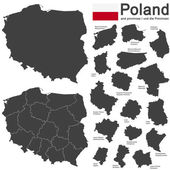 country Poland and voivodeships