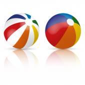 Colorful beach ball