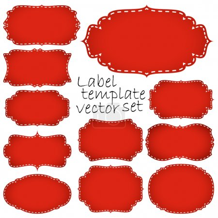 collection retro labels