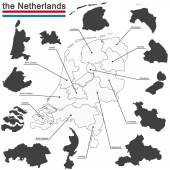 the Netherlands and provinces