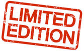 red stamp LIMITED EDITION