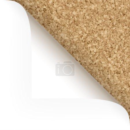Paper - top corner - cork structure
