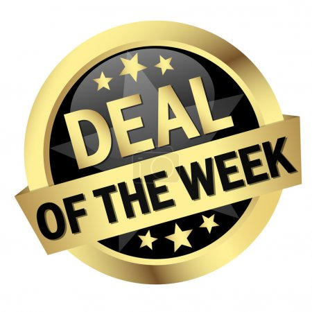 "Button with banner "" DEAL OF THE WEEK """