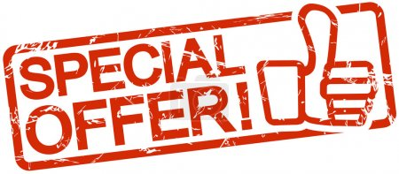 Red stamp SPECIAL OFFER!