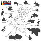 Belgium the netherlands luxembourg