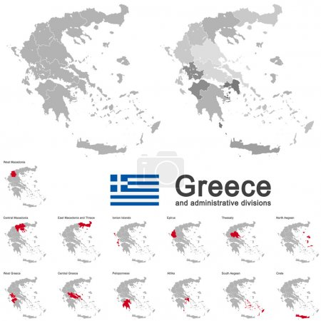 Greece and administrative divisions