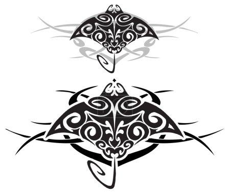 Tribal stingray