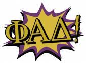 Phi alpha delta lettering