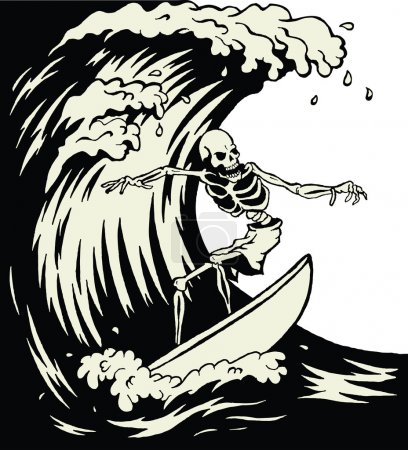 Skeleton surfer