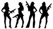 gangsters girls with guns