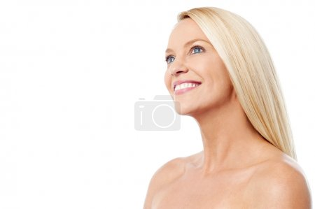 Photo for Middle aged woman with clean healthy skin - Royalty Free Image