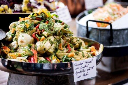 Assorted fresh salads