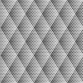 Vector Halftone Seamless Pattern