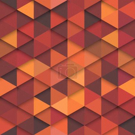 Bezszwowe wektor wzór pomarańczowy moda