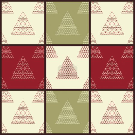 Christmas vector seamless patterns