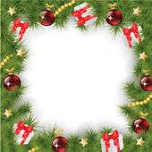 Čtvereček Vánoční pozadí