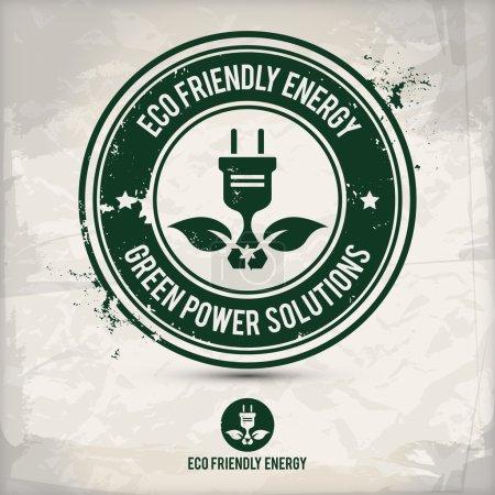 alternative eco friendly energy stamp