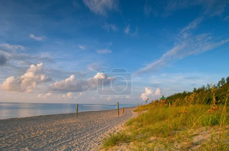 morning on beach in boca raton florida